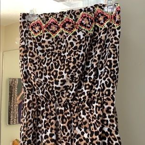 Dresses & Skirts - Fun Animal print dress from Target